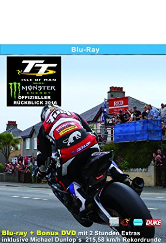 TT Isle of Man 2016 Blu-ray Rückblick Deutsch/Englisch