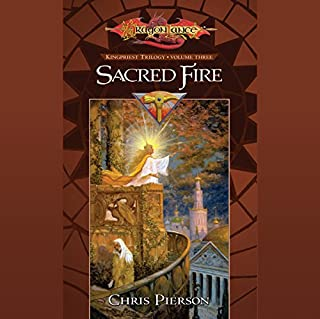 Sacred Fire audiobook cover art
