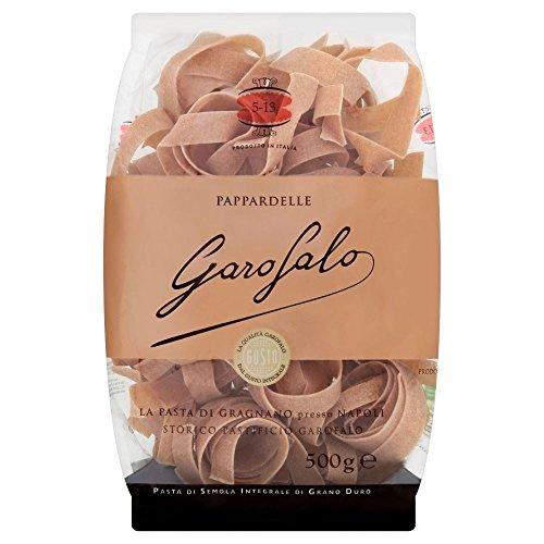 Garofalo Whole Wheat Pasta Pappardelle (500g) - Packung mit 6