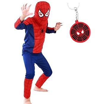 La Senorita Spiderman Disfraz Costume Niños Súper Hero + Spiderman ...