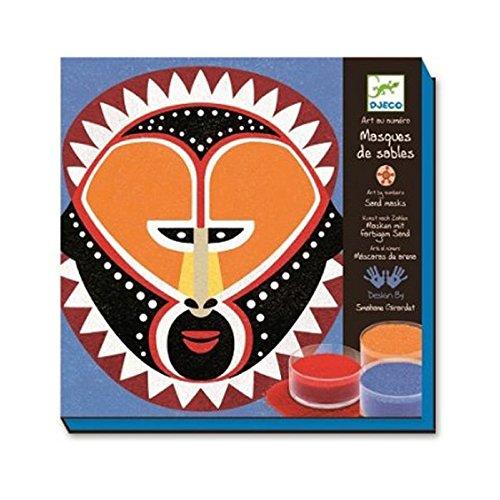 Masques de sables Art au numéro Djeco