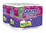 Quilted Northern Ultra Plush Bath Tissue, 18 Mega Rolls Toilet Paper, 18 Count (Pack of 2)