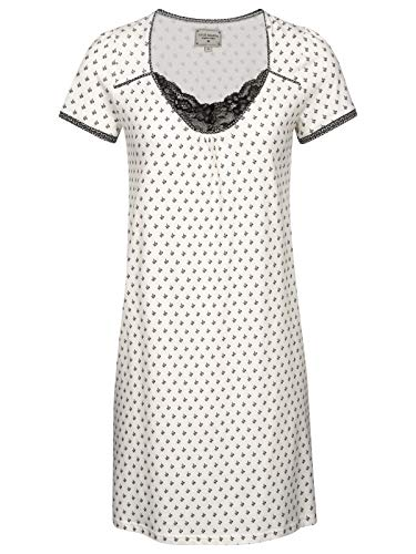 Vive Maria La Fillette Douce Nightdress Cream Allover, Größe:XS