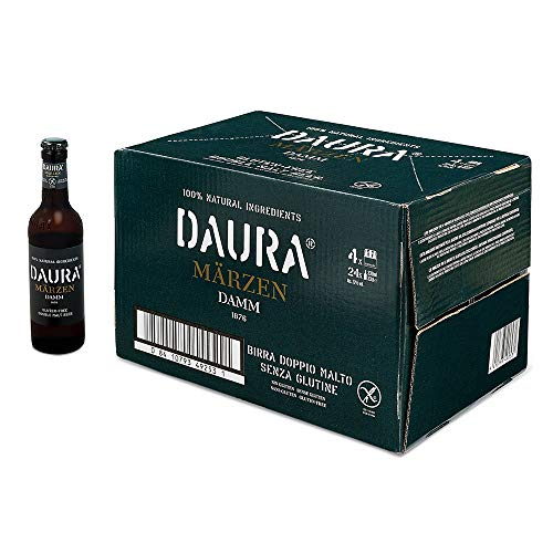 Daura Marzen Cerveza Sin Gluten - Paquete de 24 x 330 ml - Total: 7920 ml