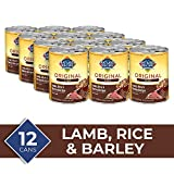 Nature's Recipe Easy to Digest Wet Dog Food, Lamb, Rice & Barley Stew Recipe, 13.2 Ounce Can (Pack of 12)