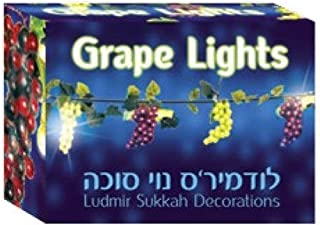 Grape Lights Garland - 72 Grapes