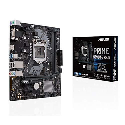 ASUS Prime H310M-E R2.0 LGA 1151 (Zócalo H4) Intel H310 Micro ATX - Placa Base (DDR4-SDRAM, DIMM, 2133,2400,2666 MHz, Dual, 2GB,4GB,8GB,16GB, 32 GB)