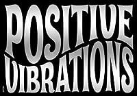 "REGGAE & RASTA DSX Positive Vibration Rub-On One Love STICKER Officially Licensed Artwork, 5'' x 3.5"" - Long Lasting STICKER Decal"