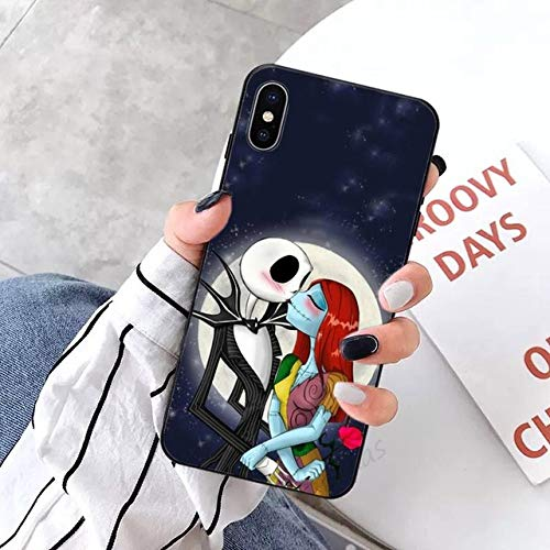 Caja del teléfono de Pesadilla navideña para iPhone 5 5s 5c se 6 6s 7 8 Plus x XS XR 11 Pro MAX, A6, para iPhone 5C