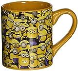 minion beer mug - Silver Buffalo DM0132 Despicable Me Cluttered Minions Ceramic Mug, 14-Ounces