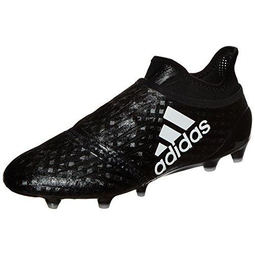 adidas X 16+ Purechaos FG, Scarpe da Calcio, Nero-Bianco, Taglia 7.5 UK (41 1/3 EU)