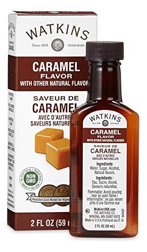 Watkins Caramel Flavor, 2 oz. Bottles, Pack of 6 (Packaging May Vary)