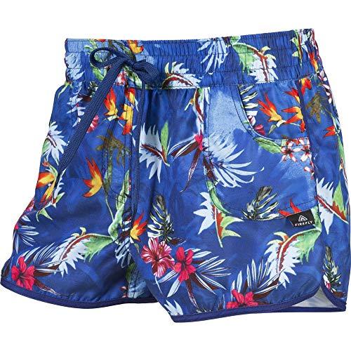 Firefly Damen Shorts Garliza II Badeshorts, Flower Blue, 36