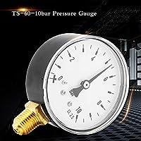 空気油水用0-10Bar範囲の圧力計空気圧測定硬度金属デジタル真空マノメーター