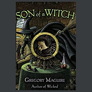 Son of a Witch audiobook cover art