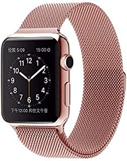 Milanese Loop For Apple Watch Band 38mm - Rose Gold