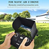 Honelife DX5 Compatible with DJI Mavic Air 2 RC Drone Monitor Hood Sun