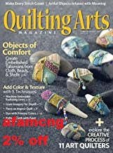 2% OFF Quilting Arts Magazine February March 2018 (afamncg)