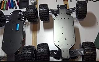 Part & Accessories ZD Racing 10427 ZMT-10 1:10 Big Foot RC Truck metal chassis low body shell