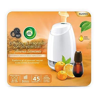 Foto di Air Wick Diffusore di Oli Essenziali Confezione con 1 Profumatore, 1 Ricarica Fragranza e 3 Batterie