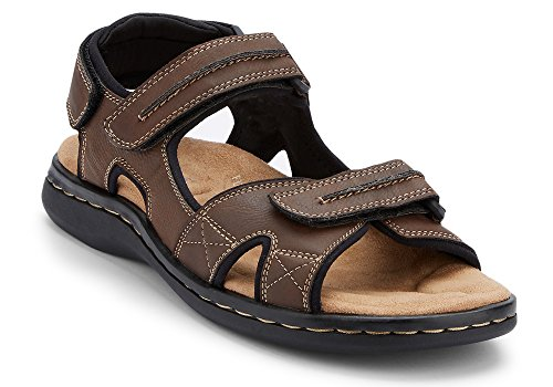 Dockers Men's Newpage Sporty Outdoor Sandal Shoe,Briar, 11 M US