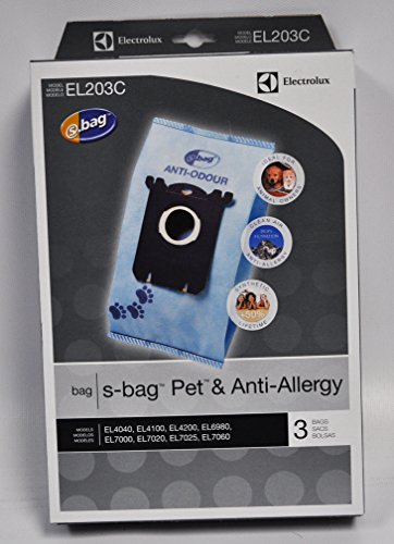 Electrolux S-Bags Pet and Anti-Allergy EL203C 3 Pa