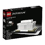 LEGO Architecture Lincoln Memorial Bambino/Bambina 274pieza (S) Set da Costruzione–Gioco di Costruzioni, 12Anno (S), 274Pezzo (S), Ragazzo/Ragazza, rivoluzionaria, 12cm, 9cm