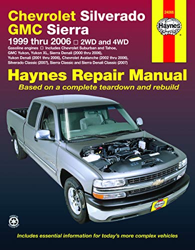 Chevrolet Silverado & GMC Sierra Gas Pick-ups (99-06) Haynes Repair Manual (Incl