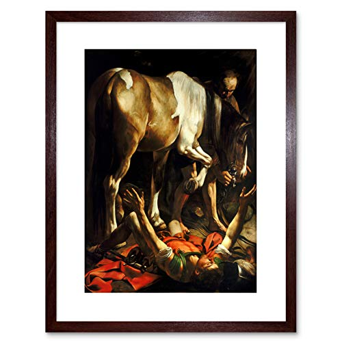 Wee Blue Coo Painting Conversion on The Way to Damascus Caravaggio Framed Art F97X11870