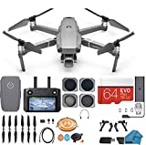 DJI Mavic 2 PRO Drone Quadcopter with Smart Controller, with ND, CPL lens Filters, Backpack, 64GB SD Card, 64GB SD Card with Hasselblad Video Camera Gimbal Bundle Kit with Must Have Accessories