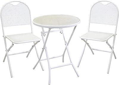 Vacchetti Giuseppe Lucca Table, Fer, Blanc, Grande