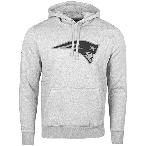 New Era Fleece Hoody - NFL New England Patriots grau - XL