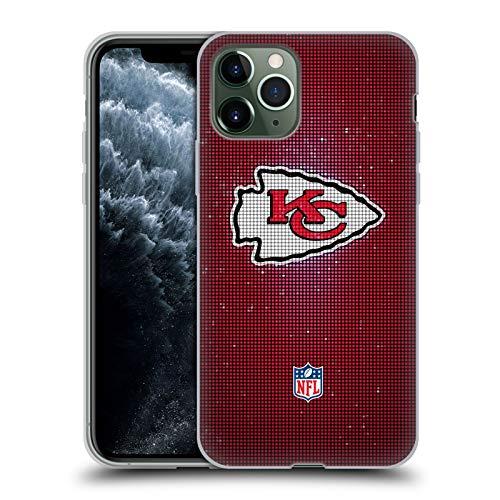 Head Case Designs Offiziell Zugelassen NFL LED Kansas City Chiefs Artwork Soft Gel Handyhülle Hülle Huelle kompatibel mit Apple iPhone 11 Pro