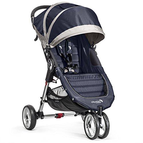 Baby Jogger City Mini 3 Passeggino, Blu(Navy Blue/Gray)
