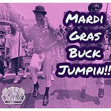 Mardi Gras Buck Jumpin !!