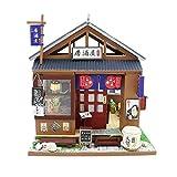 non-brand 1:24 Casa de Muñecas En Miniatura con Muebles, Estilo Japonés, Regalos para Niñas - C