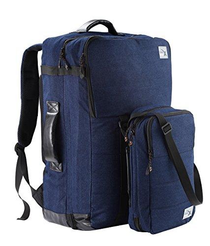 Cabin Max Nettuno dúo mochila y conjunto de bolso adecuado para Ryanair (denim azul oscuro)