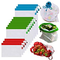 12 Piece Reusable Produce Bags - As Low As $3.50!