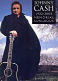 Johnny Cash 1932-2003: Memorial Songbook. Partitions pour Piano, Chant et Guitare(Boîtes d'Accord)