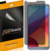 (2 Pack) Supershieldz (Privacy) Anti Spy Screen Protector Shield for LG G6, G6 Duo and G6 Plus