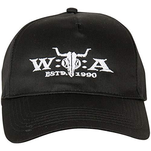Wacken Open Air W:O:A Cap Kappe Kopfbedeckung Festival Damen Herren Unisex schwarz