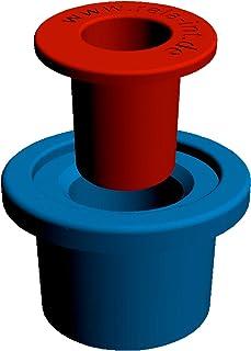 """Rela WC-bril-stop -""""nieuwe uitvoering"""" - hulzen voor draadstangen met 6 mm + 8 mm"""