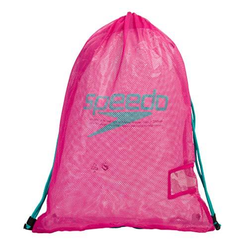 Speedo Mochila Equipment Mesh unisex  Rosa eléctrico Green Glow