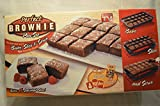 Brownie pan set Make fluffy cakes, awesome bar cookies, or grandma's apple pie squares and so much more Patented design bakes each piece separately so they are flakey and crispy on the outside, but soft and gooey on the inside Non stick divider is so...