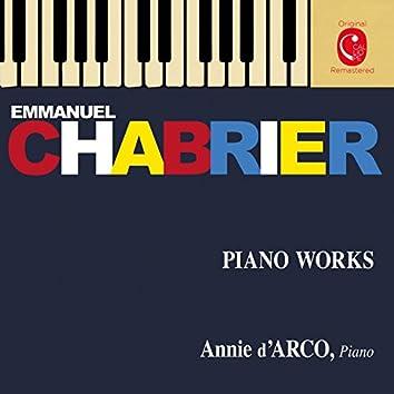 Chabrier: Pièces pour piano