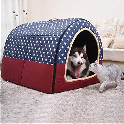 Cama para perros Cama para gatos Colchón para mascotas Cama para mascotas Nido para perros de algodón Cama plegable para gatos 2 en 1 para perros pequeños medianos Perreras de viaje a rayas Productos