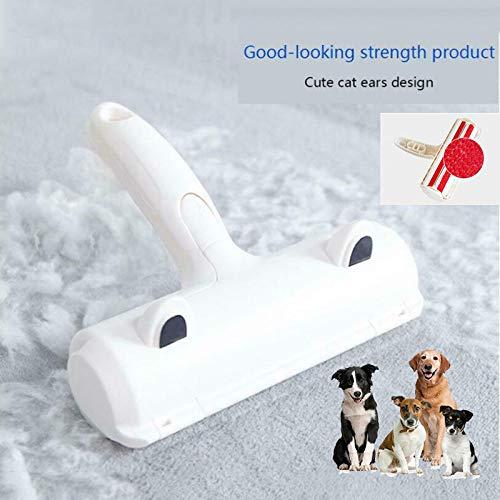 XLDYSC Huisdier Rollers, Rood Zelfreinigend 2-weg Roller Huisdier Haarverwijderaar Handheld Tool, Hond Cat Bont Kunststof Tapijt Kleding Verwijderen Verzorging Huisdier Producten