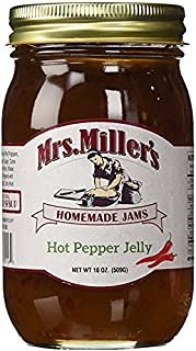 HUGE 18 oz Hot Pepper Jelly Sweet & Spicy, Amish and Homemade, Great Marinade!