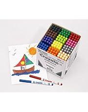 Crayola Fineline Supertips kolorowe pisaki, 144-12 kolorów