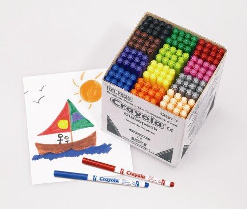 Lote de rotuladores de punta fina Crayola (144 unidades)